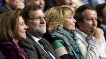 Rajoy elude hablar de Bárcenas en la Convención Nacional del Partido Popular