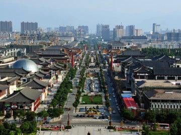Imagen de archivo de la Ciudad china de Xian, capital del imperio chino