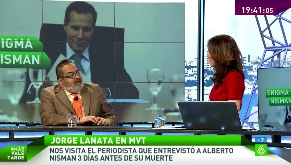 Lorge Lanata en MVT