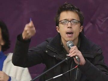 Íñigo Errejón, tras la 'Marcha del cambio'