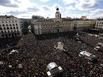 Podemos hace alarde de su fuerza en las calles con la 'Marcha del cambio'