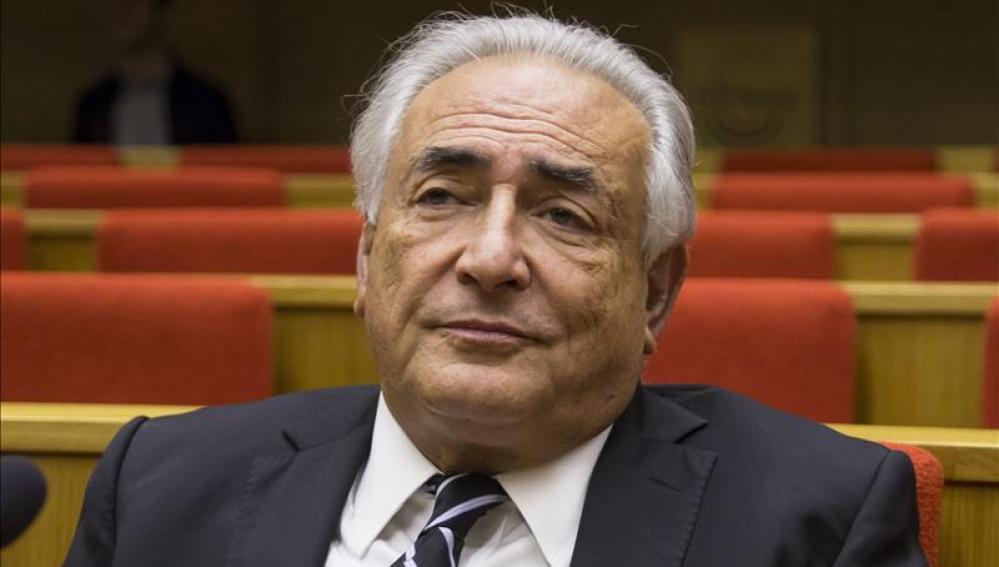 El exministro de Finanzas y exdirector del Fondo Monetario Internacional (FMI), Dominique Strauss-Kahn.
