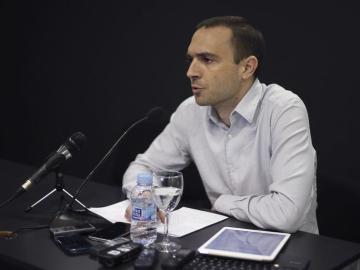El secretario de Participación Interna de Podemos, Luis Alegre
