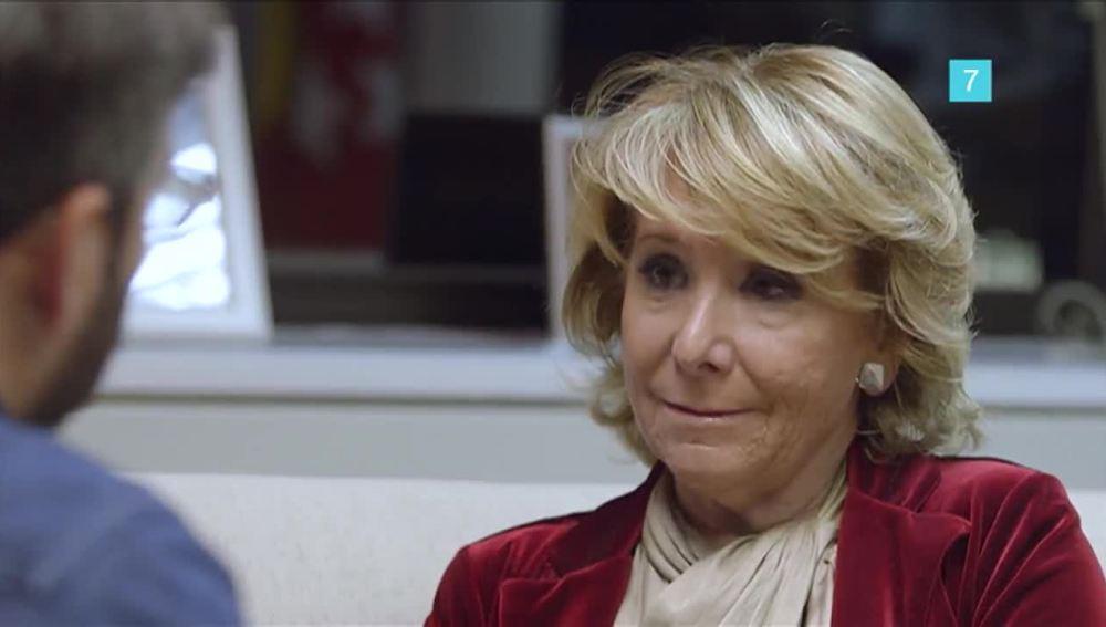 Esperanza Aguirre en Salvados
