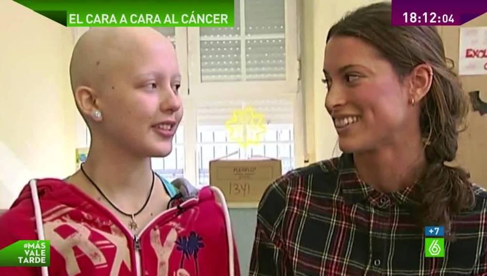 Nuria y Ana, jóvenes unidas por el cáncer