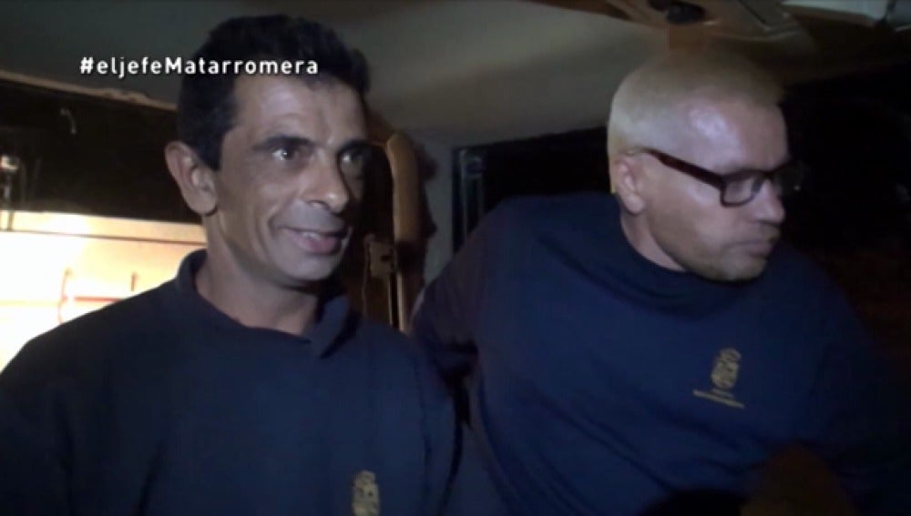 Alberto, en el tractor con 'El Jefe Infiltrado'