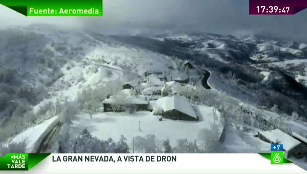Nevada a vista de dron