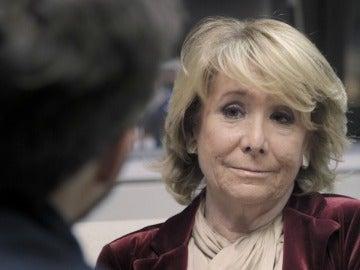 Esperanza Aguirre en 'Salvados'