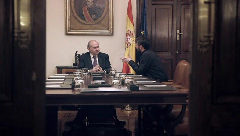 Jordi Évole entrevista a Jorge Fernández Díaz