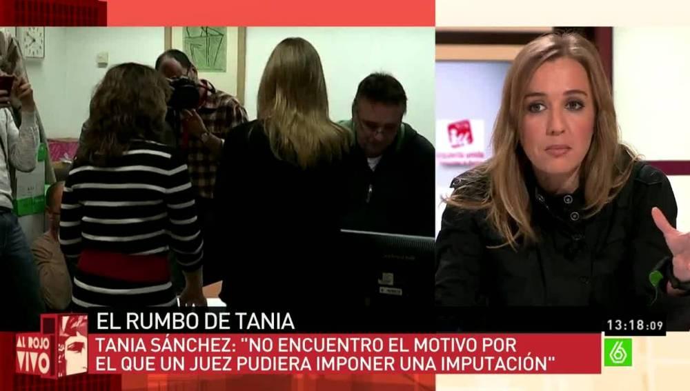 Tania Sánchez sobre su proyecto político