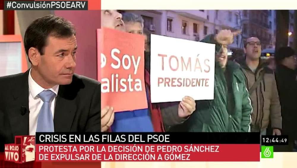 Tomás Gómez en ARV
