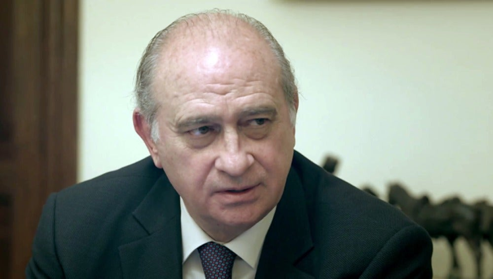 Jorge Fernández Díaz, en 'Salvados'