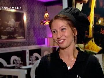 Marta, profesora de cocina de 'La Mafia'