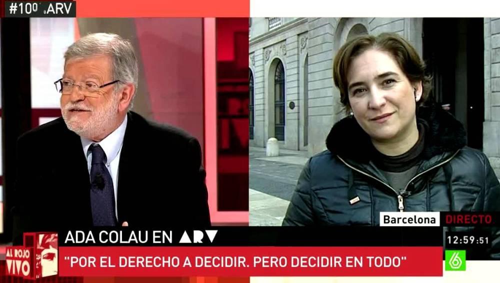 Ibarra y Ada Colau