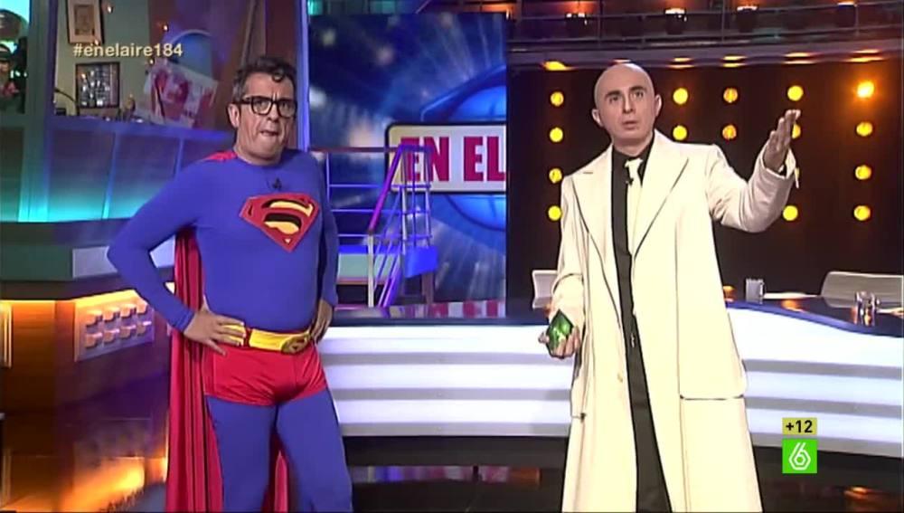 Superman Buenafuente y Lex Luthor Romero