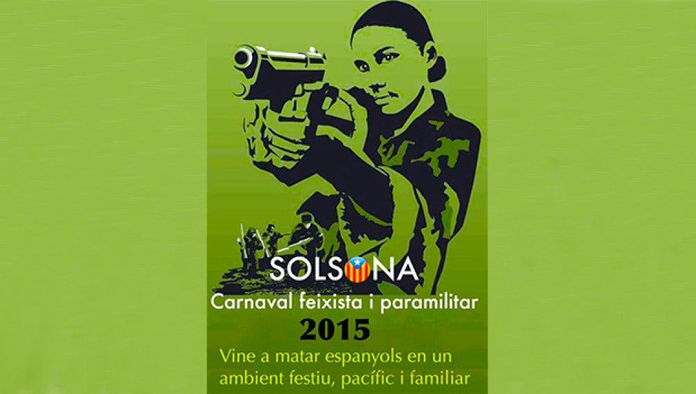 Imagen promocional del Carnaval de Solsona