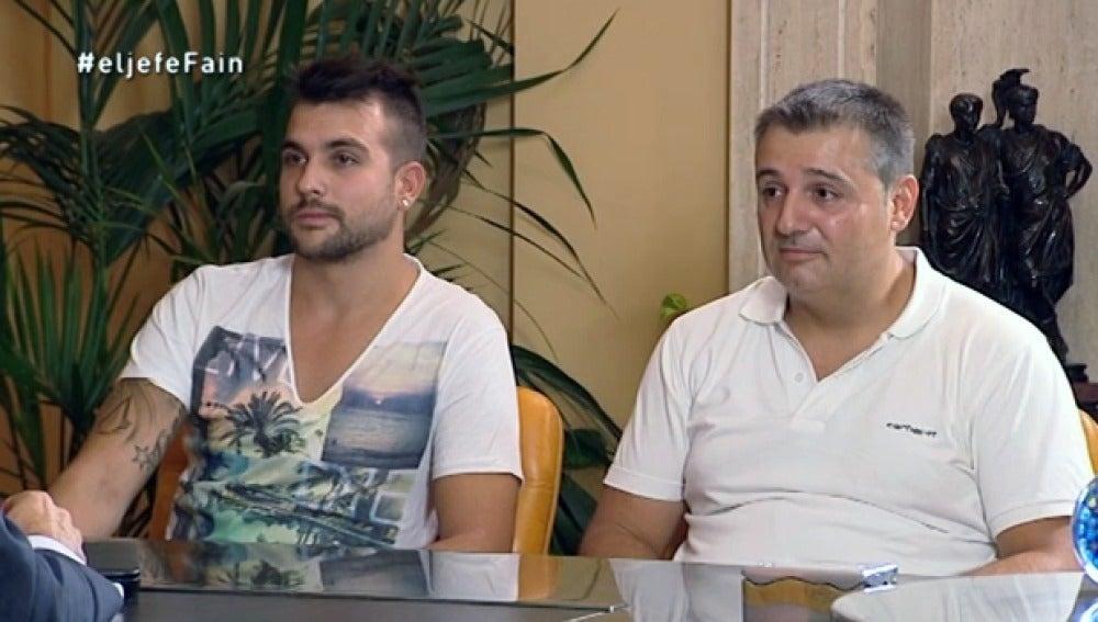 Norberto y Javier hablan con 'El Jefe Infiltrado'