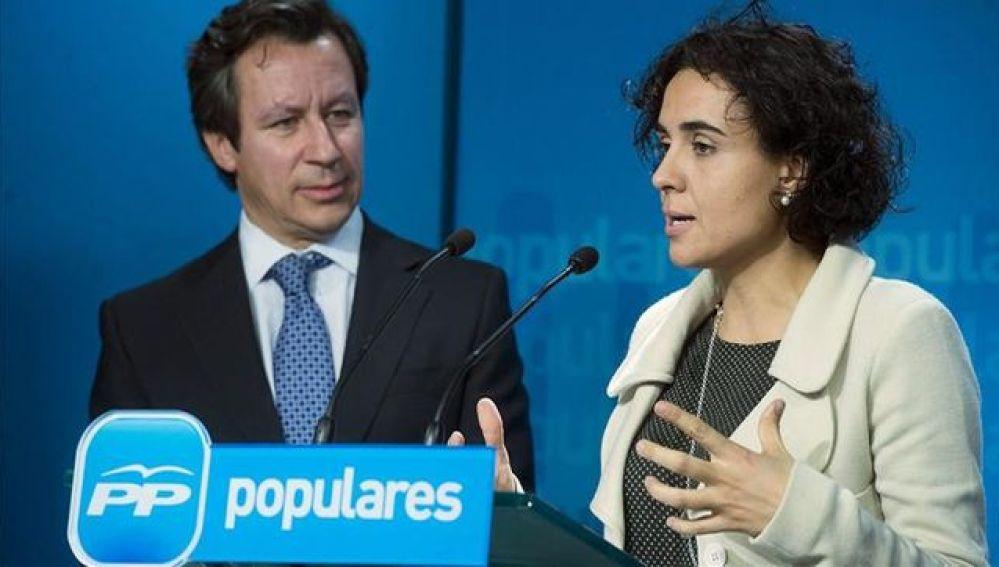 Dolors Montserrat, diputada del PP