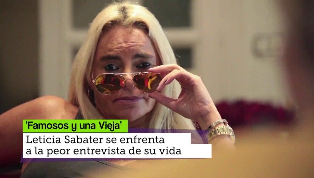 Leticia Sabater, famosos y una veja anallizado por La Escalera