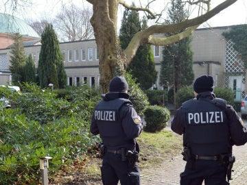Imagen de archivo de la Policía alemana