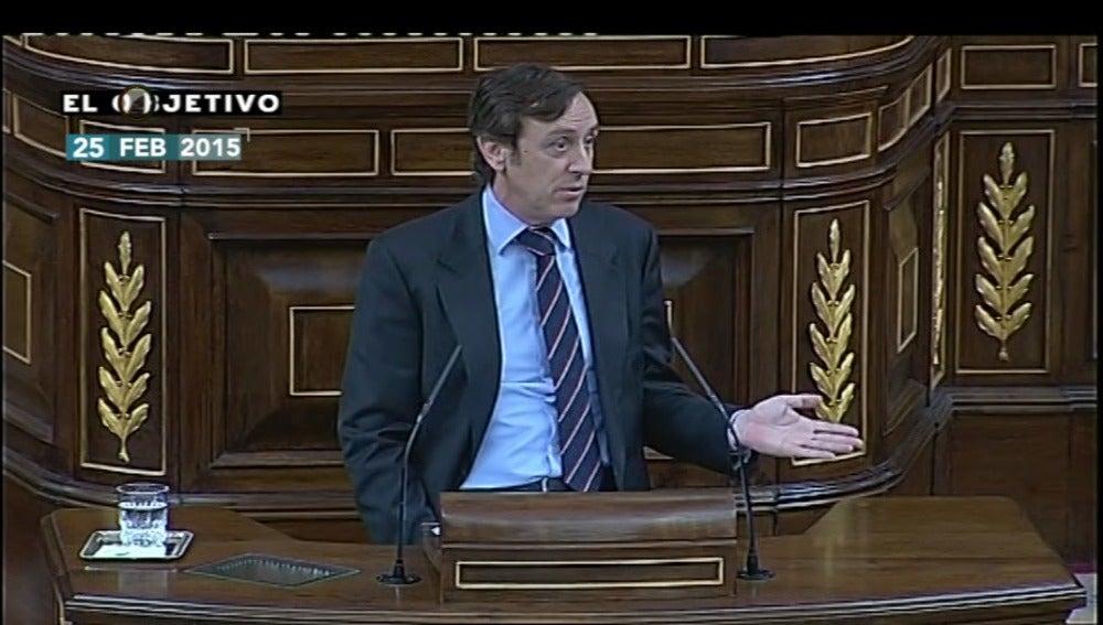 Rafael Hernando en el Congreso