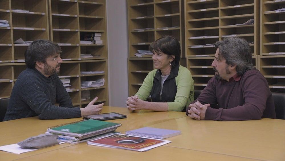 Jordi debate con profesores en 'Salvados'