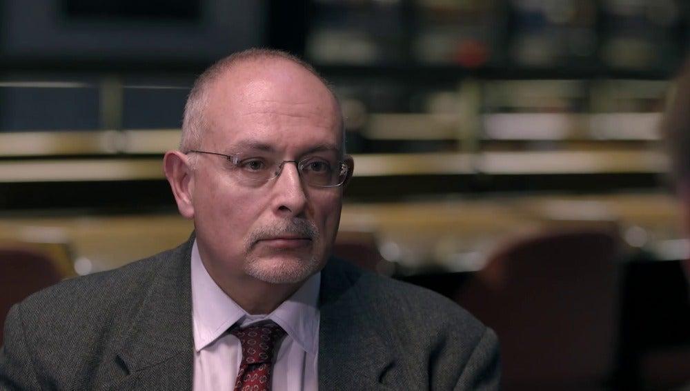 El director de estudios y estadística de la CNMV Pablo Gasós, en 'Salvados'