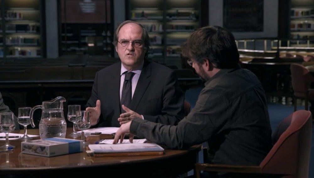 Ángel Gabilondo y Jordi Évole, en 'Salvados'