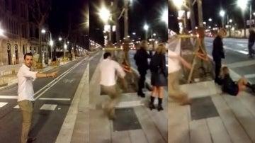 Mario García Montealegre, el joven de la agresión en Barcelona