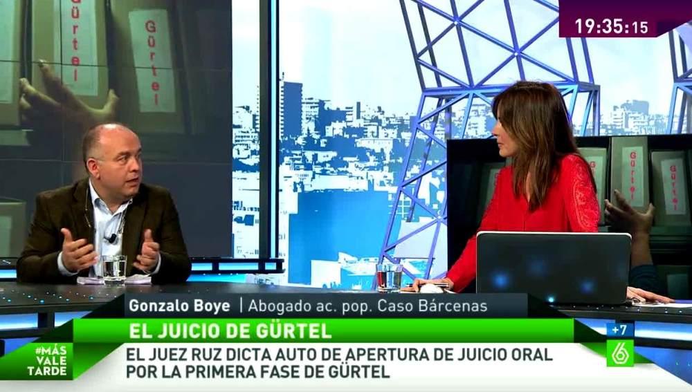 Gonzalo Boye en MVT