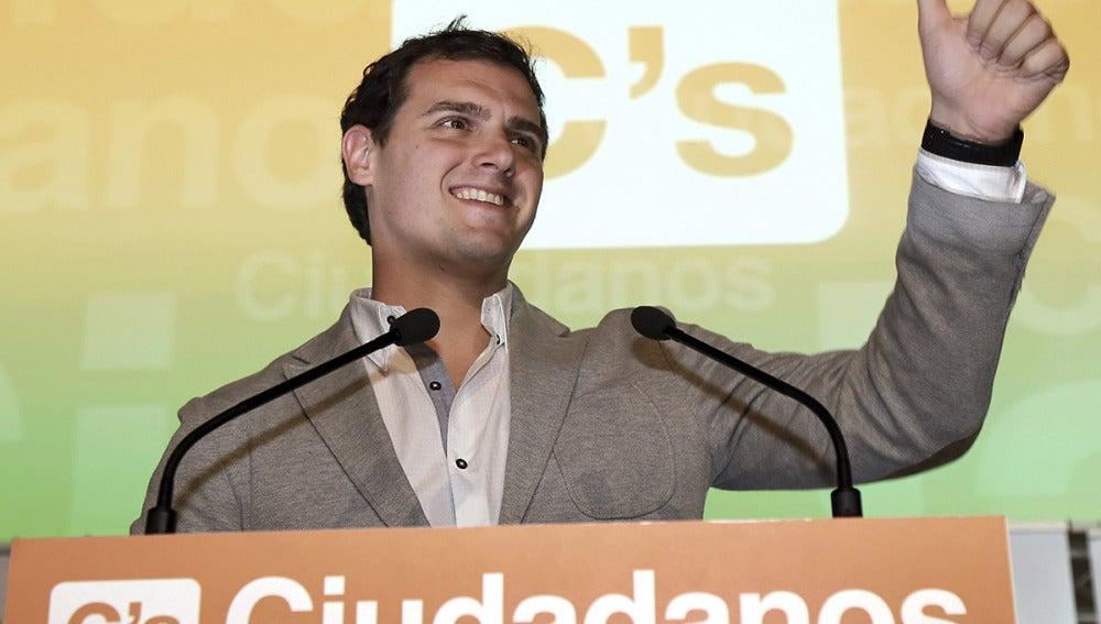 Albert Rivera en un acto en Granada