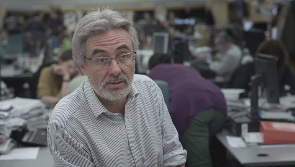 Miguel González en 'Salvados'