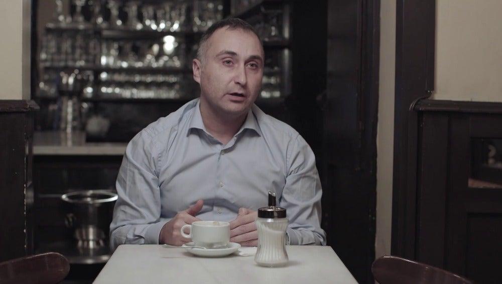 José Lóbez, marido de Zaida Cantera, en 'Salvados'