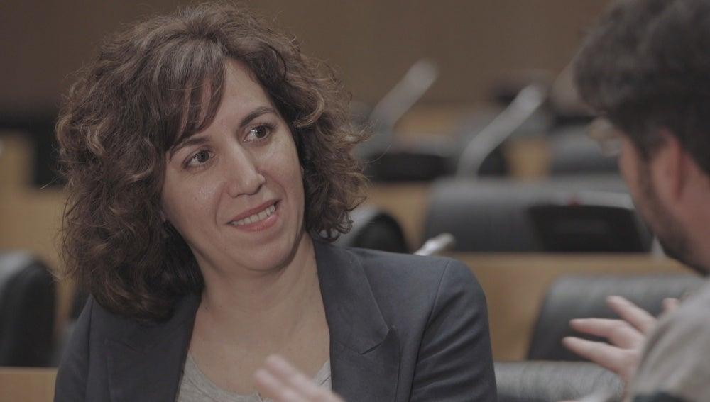 Irene Lozano en 'Salvados'