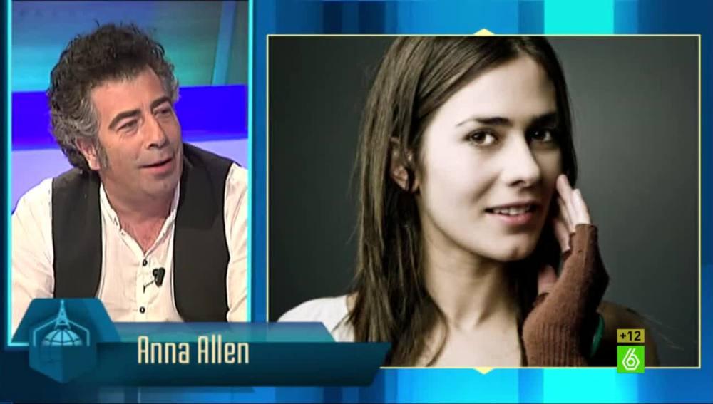 Agustín Jiménez habla sobre Anna Allen