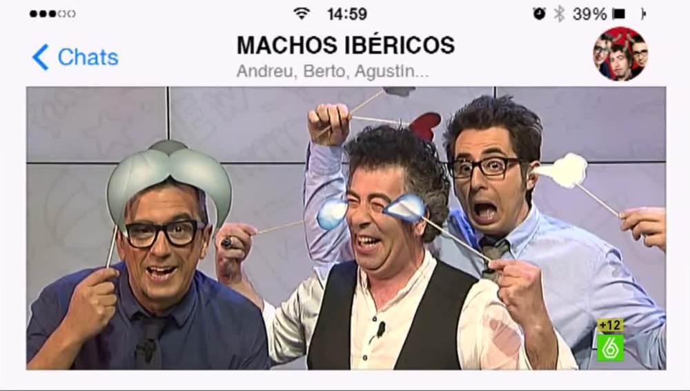 El grupo de WhatsApp de Buenafuente, Jiménez y Romero