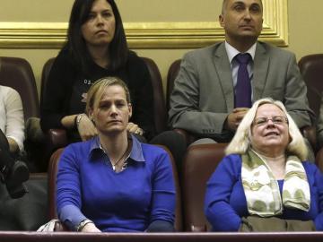 Zaida Cantera, en el Congreso de los Diputados