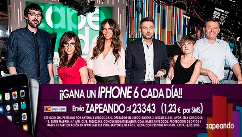 Gana un Iphone 6 con Zapeando