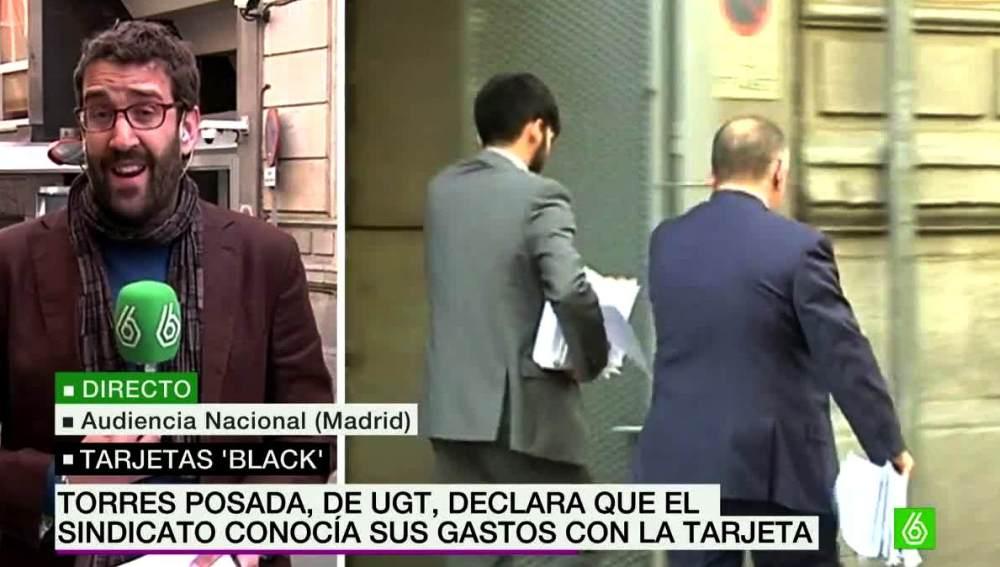 Daniel Campos desde la Audiencia Nacional