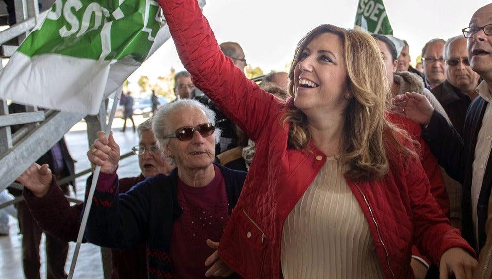 """Susana Díaz: """"Quiero que os sintáis orgulllosos"""""""