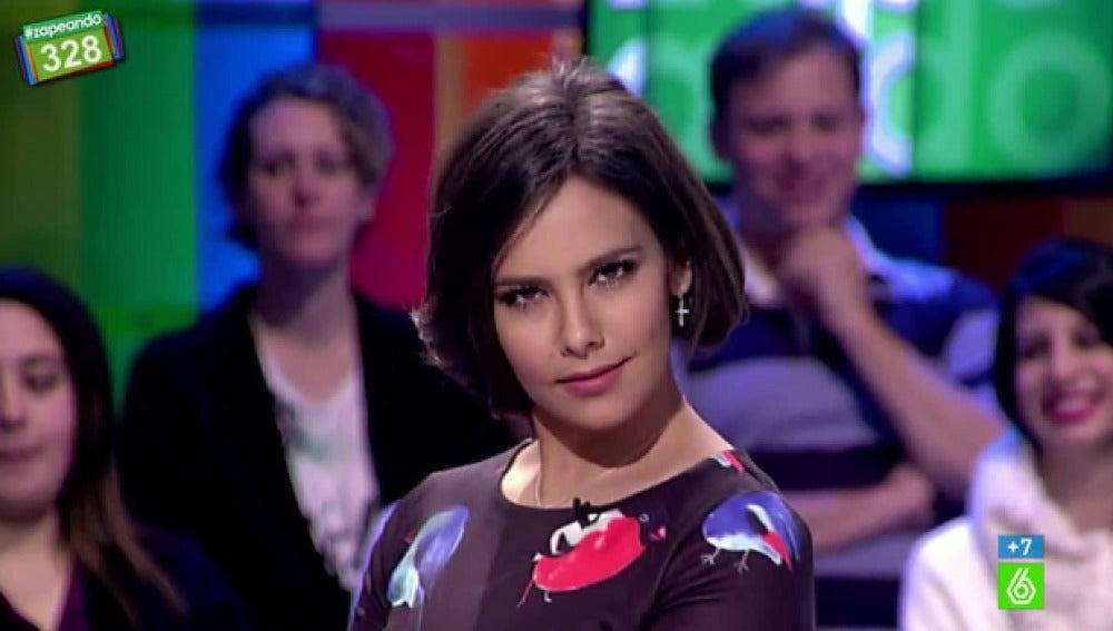 Cristina Pedroche, luciendo un 'falso bob'