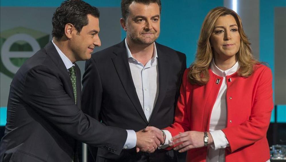 Último debate de los candidatos a las elecciones andaluzas