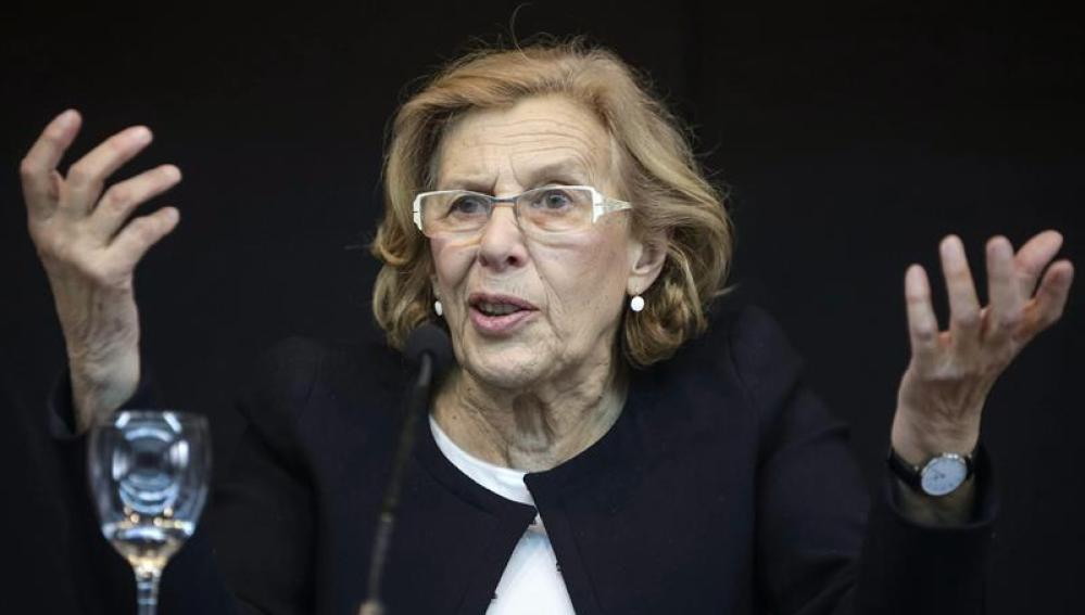 Manuela Carmena lidera la lista de Ahora Madrid