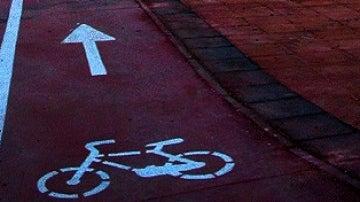 Imagen de un carril bici