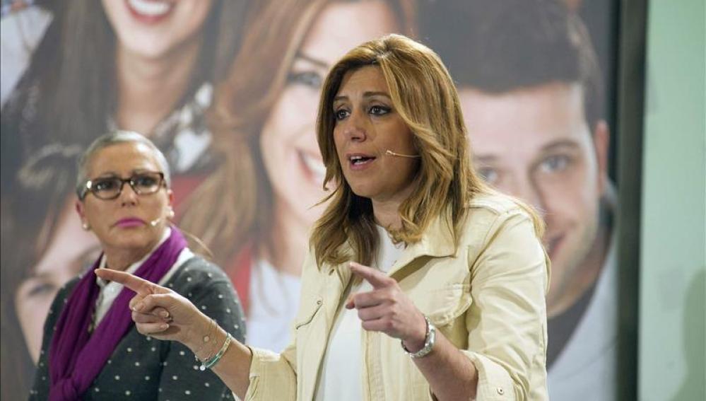 Susana Díaz, candidata socialista a la Junta de Andalucía