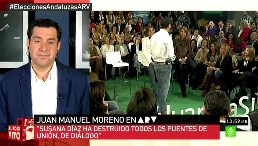 Moreno Bonilla en ARV