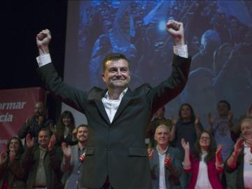 Antonio Maíllo, en el cierre de campaña