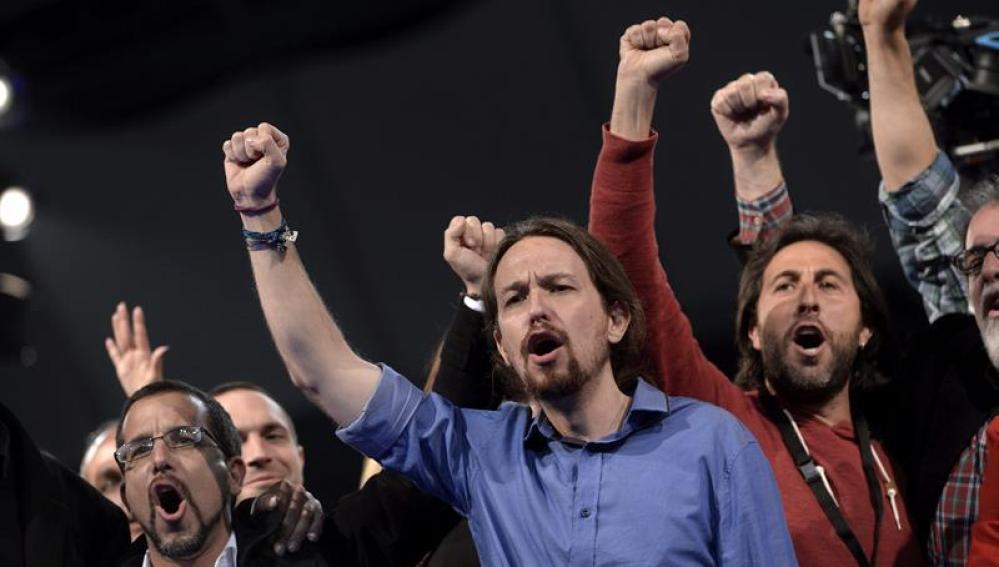 Pablo Iglesias en el cierre de campaña