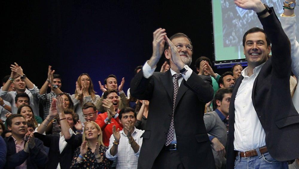 Mariano Rajoy, en el cierre de campaña del PP
