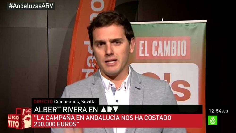 Albert Rivera en ARV